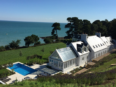 Wonderful new house overlooking the sea in Jersey