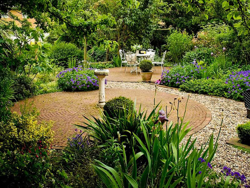 Herbaceous planting