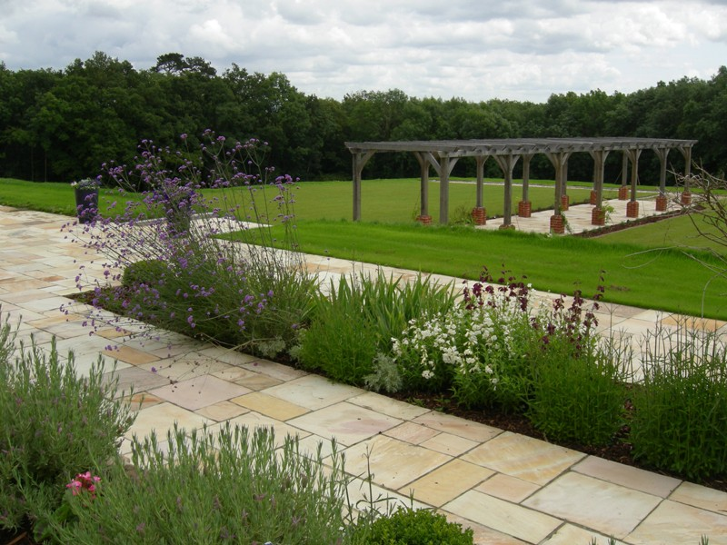 The lovely garden garden design surrey garden design for Garden design east sussex