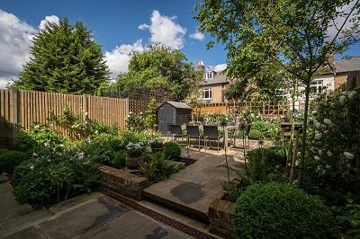 A suburban space transformed