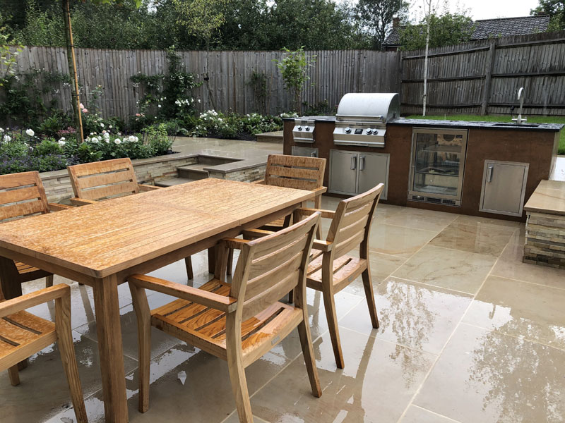 Life Outdoors supplied the fabulous kitchen