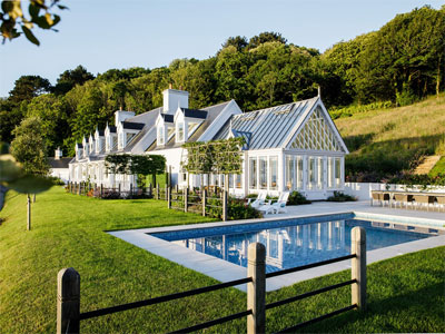Jersey Garden Design. Bespoke fences. Swimming Pool construction. Vale Conservatory. Pleached trees.